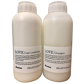 Davines Love Lovely Curl Enhancing Shampoo & Conditioner 33.8 OZ