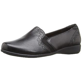 Aravon Womens Adalyn Leather Round Toe Loafers