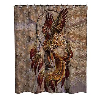 YANGFAN Bathroom Polyester Dream Catcher Printing Shower Curtain