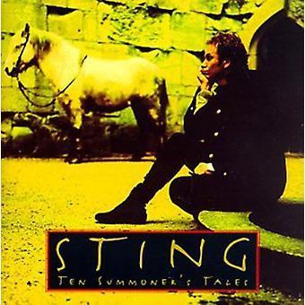 Sting - van tien Summoner Tales [CD] USA importeren