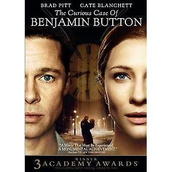 Nyfiken Case of Benjamin Button [DVD] USA import