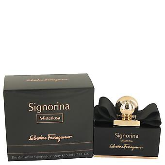 Signorina Misteriosa Eau De Parfum Spray By Salvatore Ferragamo 1.7 oz Eau De Parfum Spray