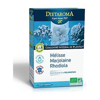 CIP Stress Lemon Balm, Marjoram, Rhodiola 20 ampoules