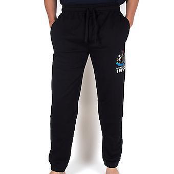 Newcastle United FC Official Football Gift Mens Fleece Joggers Jog Pants