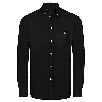 Gant New Haven Twill Shirt Black