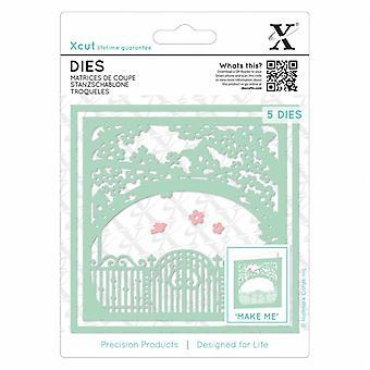 Xcut kuolee puutarhassa (5pcs) (XCU 503383)