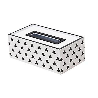 European Style Wooden Tissue Box 25x13x9cm