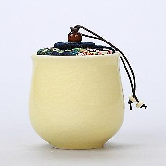 Ceramic Purple Sand Small Ash Pot