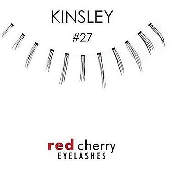 Red Cherry Premium False Under Lashes - #27 Kinsley - Handmade with Real Hair