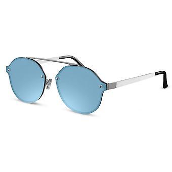 نظارات شمسية أونيكس وندرر الفضة / الأزرق (CWI1904)