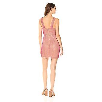 Parker Women&s Black Morgan Bez rękawów Pełna Sukienka Mini z znieczona, Wiśniowa czerwień, 2