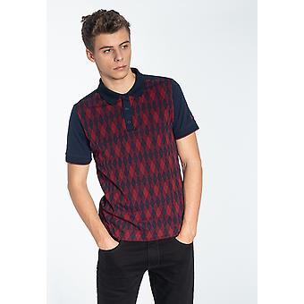 Merc SYCAMORE, Men's Cotton Jacquard Polo Shirt