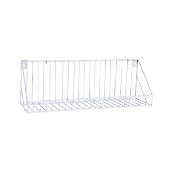 Creative Wall-mounted Iron Storage Racks Home Decoration Large White