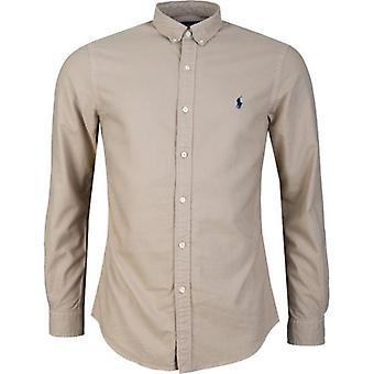 Polo Ralph Lauren Slim Fit Kleidungsstück gefärbt Oxford Shirt