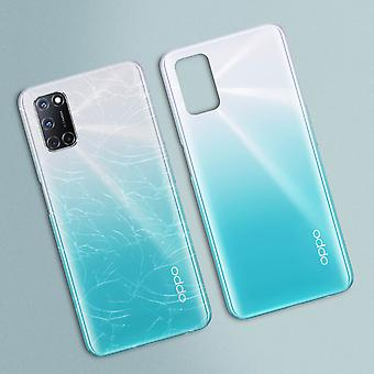 Replacement Battery Cover for Oppo A72 Back Cover - Turquoise