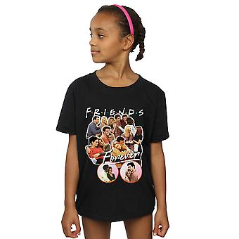 Friends Girls Forever Collage T-Shirt