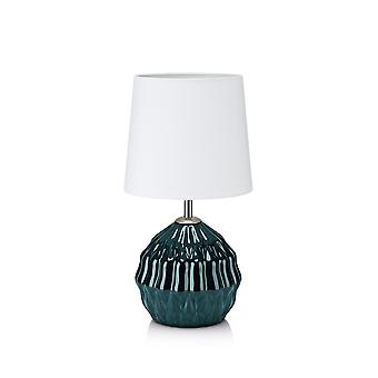 1 Light Indoor Table Lamp Green, E14