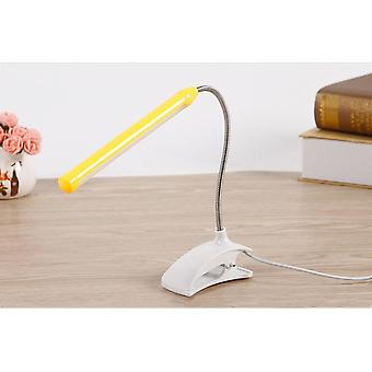 Usb Led Desk Lamp With Clip Flexible Table Lamp For Bedside Book Reading Study