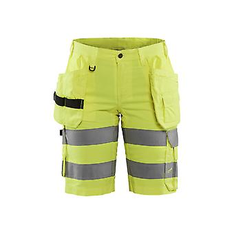 Blaklader 7186 Damen hi-vis shorts stretch - Damen (71861811)