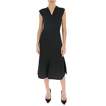 Victoria Beckham 1120kdr00673a Femmes's Robe Viscose noire
