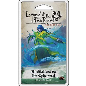 Legenden om de fem ringene LCG: Meditasjoner på flyktige dynastiet ekspansjonspakke