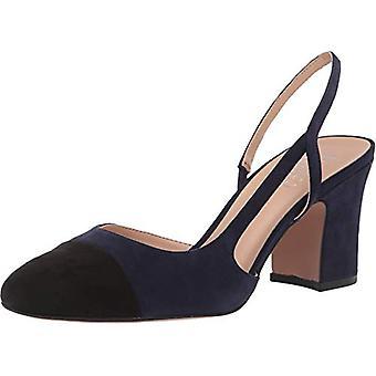 Franco Sarto vrouwen Imogen stof Cap toe casual slingback sandalen