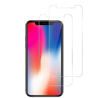 Bildschirmschutz iPhone X / XS Gehärtetes Glas 2-Pack
