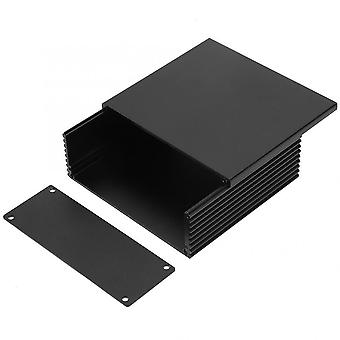 Circuit Board Instrument Aluminum Cooling Box Electronic Project Enclosure Case For Heat-dissipating