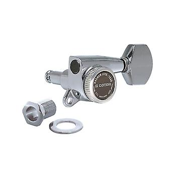 Gotoh Sg381 Magnum Lock Traditional Tuners 3 Per Side, With 07 Mini Buttons 16:1 Gear Ratio