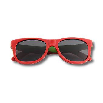 Óculos de Sol Vermelhos Desbravadores de Skatedeck Reciclados