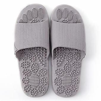 Verano antideslizante sólido suave fondo pareja zapatillas sandalias
