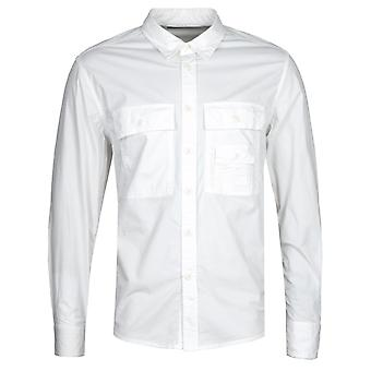Diesel S-Allen-Ka White Poplin Shirt