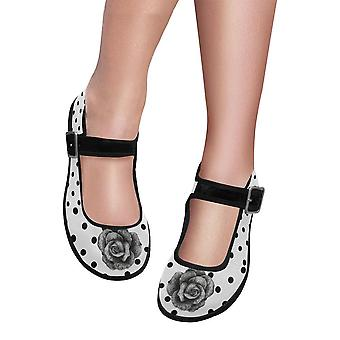 Mary jane shoes - classic rose polka dots