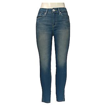 DENIZEN from Levi's Women's Jr Jeans Low Rise Jeggings w/ Pockets Blue 46