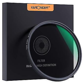 K&f concept 58mm cpl filter 18 layer super slim cpl circular polarizer filter multi-coated polarized