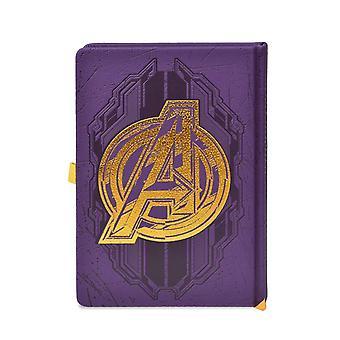 Avengers Infinity War Ganlet LED a5 Notebook