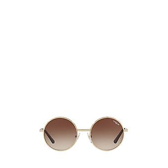 Vogue VO4085S pale gold female sunglasses