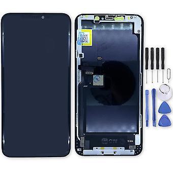 Pour Apple iPhone 11 Pro Max 6.5 pouces Affichage Full Hard OLED LCD touch Pièces de rechange Réparation Noir Nouveau