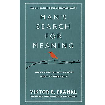 Man's Search For Meaning: The classic tribute to hope from the Holocaust (With New Material) Hardcover - Special Edition, 20 de enero de 2011