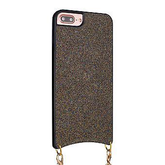 H-basics phone chain for Apple iPhone 7 Plus / 7S Plus / 8 Plus necklace case cover