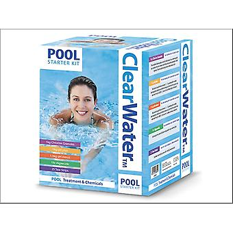 Wilton Bradley Clearwater Half Size Pool Start Kit CH0017