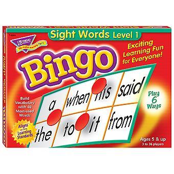 Gioco di bingo di livello 1 di Sight Words