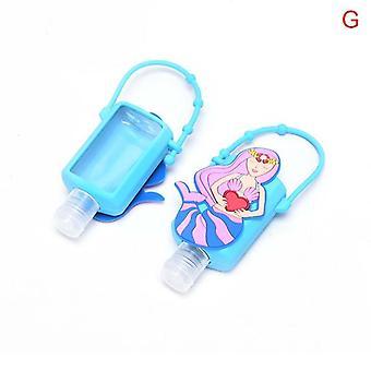 Cartoon Mixed Silicone Bath Baby Shower Hand Sanitizer Bottle, Travel Soap