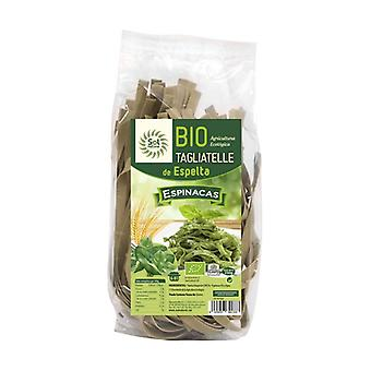 Tagliatelle Wholemeal Spelt Pasta with Spinach Bio 250 g