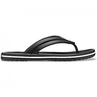 Crocs 206100 Crocband Flip Ladies Flip Flops Black