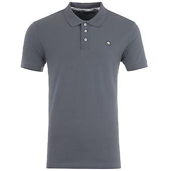 Moose Knuckles Cotton Pique Polo Shirt - Grey
