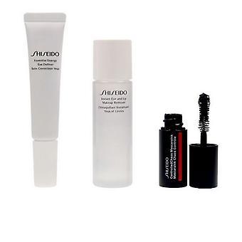 Unisex Cosmetic Set Essential Energy Shiseido Eye Contour (3 Piese)
