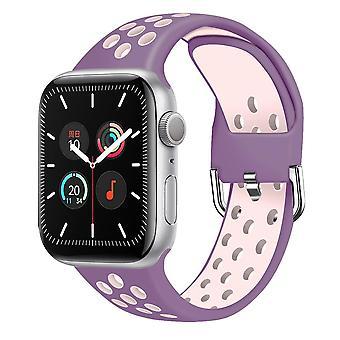 Apple Watch Silicone Belt Sports Bracelet Watch Series 6 Se 5 4 3 21 Watchband