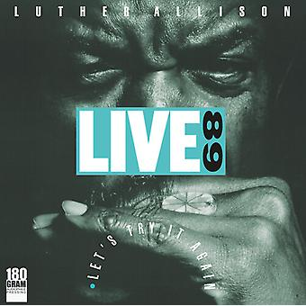 Allison,Luther - Live 89 Let's Try It Again [Vinyl] USA import