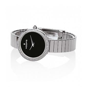 Hoops New Luxury Silver And Gold Silver 30mm Women's Watch